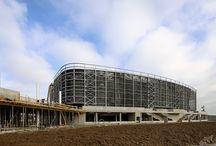 Aquae 2015 3 EXPO / Cantieri a Porto Marghera nell'area adiacente al Vega che ospiterà il progetto Aquae 2015 http://www.aquae2015.org/