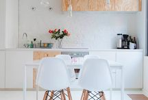 // k i t c h e n / inspiration | space | dining | kitchen benches | styling