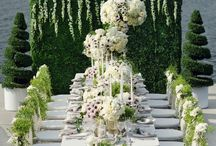 #Wedding #styling / When everything comes together in one fantastic styling: table, flowers and backdrops