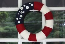 All American - Memorial Day, 4th of July, Patriotic / Ideas on decorating and commemorating the patriotic days