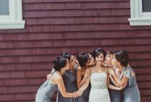 Wedding - Guests - With bridesmaids