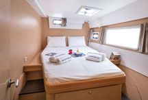 Silver Star II Catamaran / Lagoon 421, Year 2015  Equipment: Cockpit Table, Water tank 630L, Fuel tank 600L, Inverter 1500W, Fans in cabins & salon, 3 Refrigerators, Gangway, Electrical Winches (Mainsail), Solar Panels 400W, Tender Highfield 290, Outboard 4 Hp, Autopilot, GPS Plotter 12'' B&G, Depth sounder, VHF, Stereo system