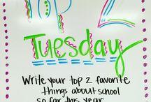 Tuesday whiteboard