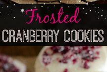 Christmas baking/desserts
