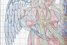 angeles / Ángeles punto cruz