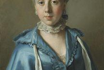 Women's 18th century clothing / by Beth Webb