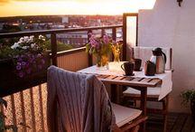 Dale vida a tu balcón o mini-terraza / Inspiración para la decoración de terrazas.