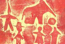 Young Children's Art - Printmaking