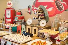Vintage Car Party / Vintage race car themed birthday party ideas