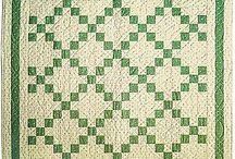 St. Patrick's Day Quilts / Free quilt patterns to celebrate the luck o'the Irish in all of us!