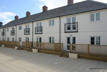Witney 2010 / This was a new-build job that comprised of over 100 windows. We also did the French doors that you see in the pictures. These homes are on top of Marriotts Walk Shopping Centre in Witney, Oxfordshire.