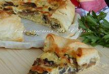 Torte salate e pizze e farinate timballi e polpettoni