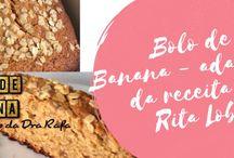 Bolo de lamber os dedos / Receitas variadas de bolos. Receitas simples e com restrições e receitas mais requintadas