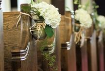 Wedding decorations church  / by Amanda Kuhr