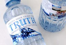Custom Labeled Bottled Water / Check out all of the cool custom bottled water labels we have produced for our customers. / by Bottle Your Brand