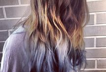 Dip-dye and Ombre hair