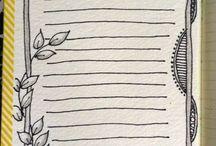 Bullet Journal Ideeas