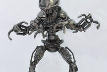 Assemblages...Robots / Robots / by Jane Lambert