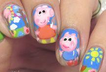 Character/Cartoon Nails / Character and Cartoon nail art