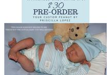 NEWEST REBORN DOLL KIT PREORDERS FOR CUSTOMS AT LITTLE BLESSINGS BOUTIQUE DOLLS