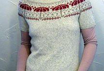 swetry żakardowe