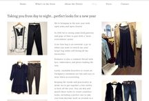 OUR BLOG / We want to provide a unique view of style and shopping through the eyes of our store.