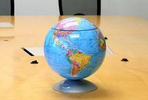 Sensor & Educational / New Sensor Globe - endless fun of storage and learning