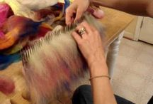 Spining, felting / Spining, felting