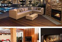fire place indoors