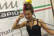 Hair Show Gamma Più Sardinia Sept 2014