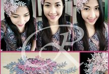 HAIR ACCESSORIES / My original handmade, made with passion and happiness when think people satisfied using it.