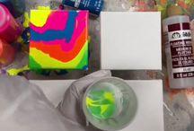 Måla med färger