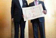 Ikuhiko Ono, Consul General of Japan in Denver awards Paul Maruyama
