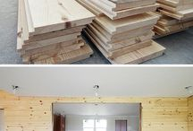 Everything Shiplap / Shiplap, bead board, tongue and groove, wood paneling and more. Ideas for every room including ceilings and feature walls