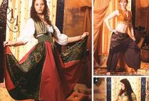 Belly Dance Outfits I have made