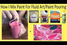 fluid pouring