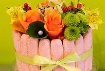 Gâteaux de Fleurs
