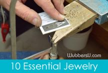 Tutorials - Metalsmithing / Here's a collection of ways to manipulate metals by chasing, cutting, forging, stamping, rolling and soldering into different pleasing rings, bracelets, necklaces shared by Art Jewelry, Jewelry Making Daily, David Sturlin, to mention just a few jewelry making resources. #artiseverywhere / by Molten Wrx, Beads of Glass