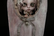 Special Dolls / creepy, different or strange dolls but all lovable!