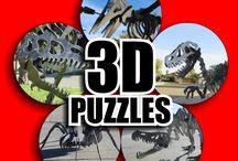 3D Dinosaur Puzzles