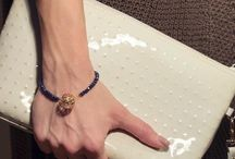 3D Bracelet with Crystals