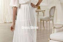 Wedding dress / by Candy Benson Maroney
