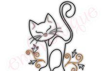 gato desenho