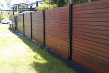 WPC outdoor fence / many types of garden dark WPC fence wholesale