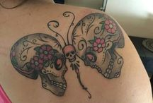 tattoo inspirations butterfly skull