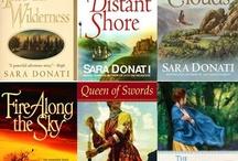 Books - Wilderness Series Sara Donati / by Tiffany