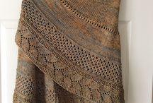 Châles tricotés