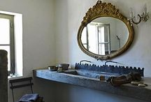 salles de bains, bathrooms / Bathrooms and clockrooms that inspire me