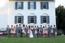 Outdoor Weddings at Historic Oakland / With various outdoor options for your ceremony and reception, Historic Oakland is the perfect setting for your Spring wedding!