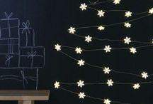 *** Inspiration Sapins alternatifs *** / Idées de sapin pour Noël